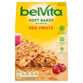 Belvita Breakfast Biscuits Soft Bakes Red Berries