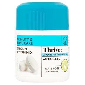 Waitrose Calcium & Vitamin D