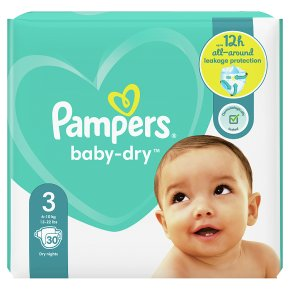 Pampers Baby-Dry 6-10kg Size 3