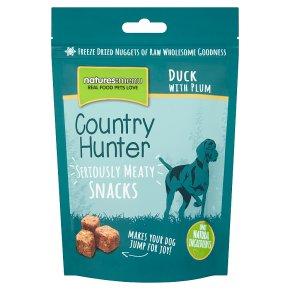 C/Hunter snacks duck with plum