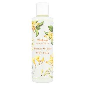 Waitrose Heritage Freesia Body Wash