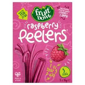 Fruit Bowl Raspberry Peelers