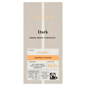 No.1 Dark Chocolate with Orange & Almond