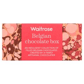 Waitrose Belgian Chocolate box