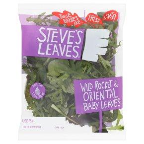 Steve's Leaves Wild Rocket & Oriental Baby Leaves