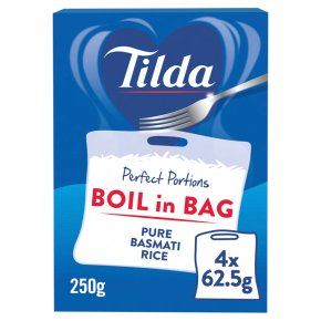 Tilda Boil in the Bag Pure Basmati Rice