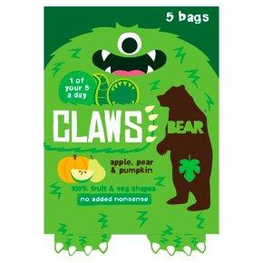 Bear Claws Apple, Pear & Pumpkin