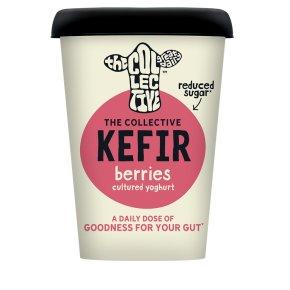 The Collective Dairy Kefir Yoghurt Berries 'n' Hibiscus