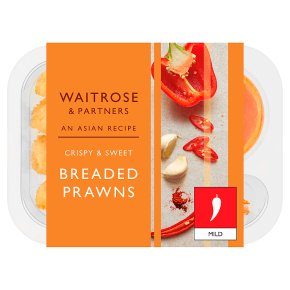 Waitrose Asian Breaded King Prawns with Chilli Sauce