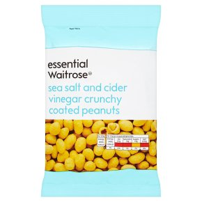 essential Waitrose Sea Salt & Vinegar Coated Peanuts