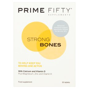 Prime Fifty Strong Bones