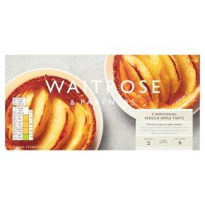Waitrose Frozen 2 tartes aux pommes