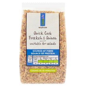 Waitrose LOVE Life Freekeh & Quinoa