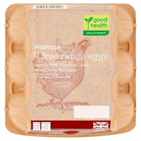 Waitrose British Blacktail mixed weight free range eggs