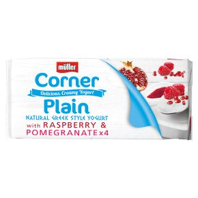 Müller Corner Plain with Raspberry & Pomegranate
