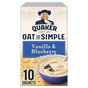 Oat So Simple Vanilla & Blueberry 10s