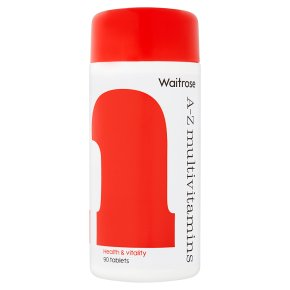 Waitrose A-Z Multivitamins