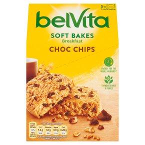 Belvita Breakfast Biscuits Soft Bakes Choc Chip