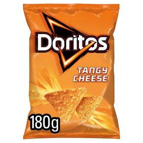 Doritos tangy cheese sharing tortilla crisps