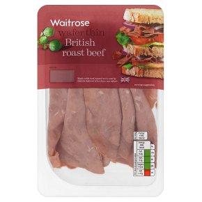 Waitrose British wafer thin roast beef