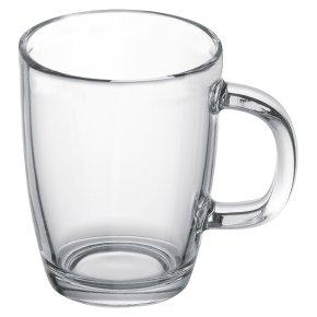Bodum glass coffee mug