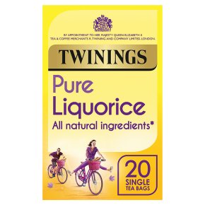 Twinings liquorice 20 tea bags