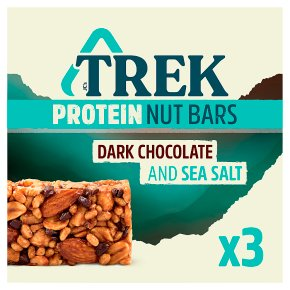 Trek Protein Nut Bars Dark Chocolate & Sea Salt