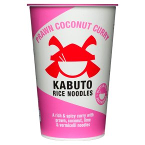 Kabuto Prawn Coconut Curry Rice Noodles