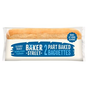 Baker Street 2 Part Baked Baguettes