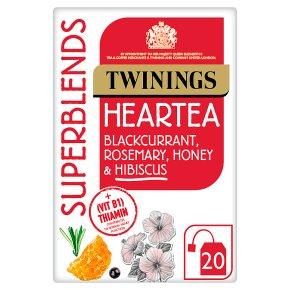 Twinings SuperBlends Heartea 20s
