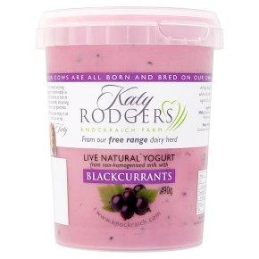 Katy Rodgers Natural Yogurt Blackcurrants