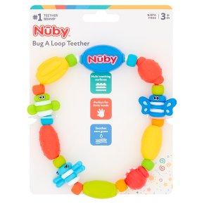 Nuby 3month+ teether bug a loop