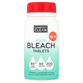 Compact Clean 40 Aqua Tablets
