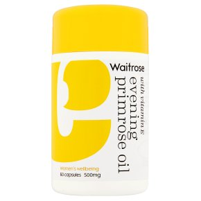 Waitrose Vitamin E Evening Primrose Oil