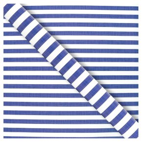 Waitrose Gift Wrap 2M Nautical Stripe
