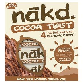 Nakd Cocoa Twist Breakfast Bars