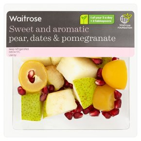 Waitrose Pear, Dates & Pomegranate