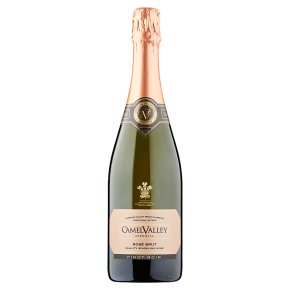Camel Valley Brut, Pinot Noir, English, Rosé Sparkling Wine