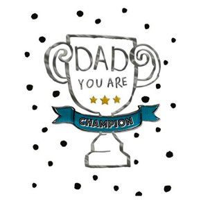 Champion Father's Day Card