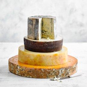 Evie Four Tier Cheese Wedding Cake
