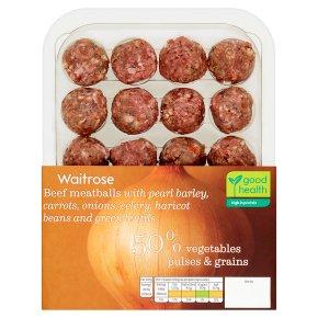 Waitrose Beef Meatballs