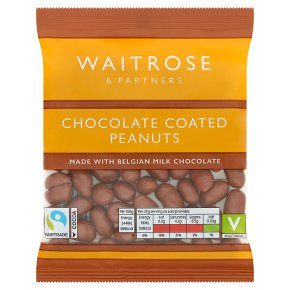 Waitrose Milk Chocolate Peanuts