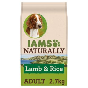 Iams Naturally Adult New Zealand Lamb & Rice
