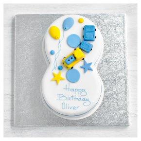 8th Birthday Train Cake