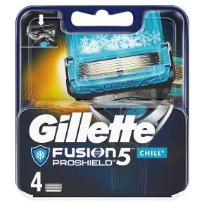 Gillette Fusion pro- shield Chill Blades