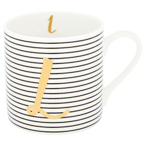 Waitrose 'L' Bone China Mug