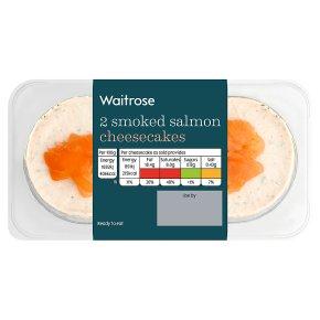 Waitrose 2 Smoked Salmon Cheesecakes