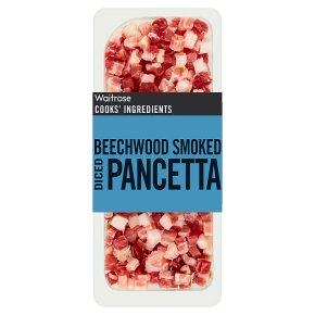 Waitrose Cooks' Ingredients Italian smoked pancetta