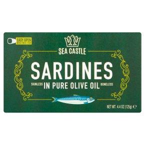 Sea Castle Sardines Skinless & Bone
