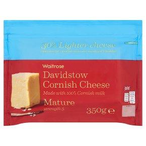 Waitrose Mature Lighter Cornish Cheese